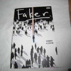 Cómics: FAKER.CAREY & JOCK.PLANETA DE AGOSTINI 2008. Lote 45242559