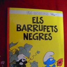 Cómics: ELS BARRUFETS NEGRES - ELS BARRUFETS 1 - PEYO - CARTONE - EN CATALAN. Lote 45351349