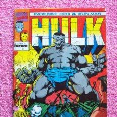 Cómics: THE INCREDIBLE HULK IRON MAN 1 EDICIONES FORUM 1993. Lote 45355688
