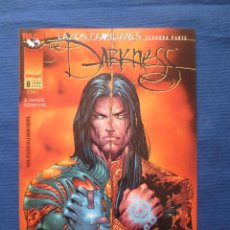 Comics - THE DARKNESS de MARC SILVESTRI - NUMERO 8 PLANETA - SAGA LAZOS FAMILIARES SEGUNDA PARTE - CROSSOVER - 45848214