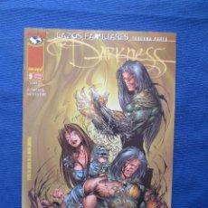 Comics - THE DARKNESS de MARC SILVESTRI - NUMERO 9 PLANETA - SAGA LAZOS FAMILIARES TERCERA PARTE - CROSSOVER - 45848242