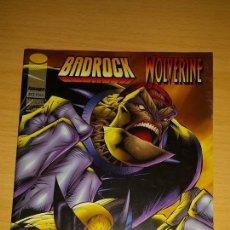Cómics: BADROCK WOLVERINE - NUMERO UNICO BUEN ESTADO.. Lote 46011666