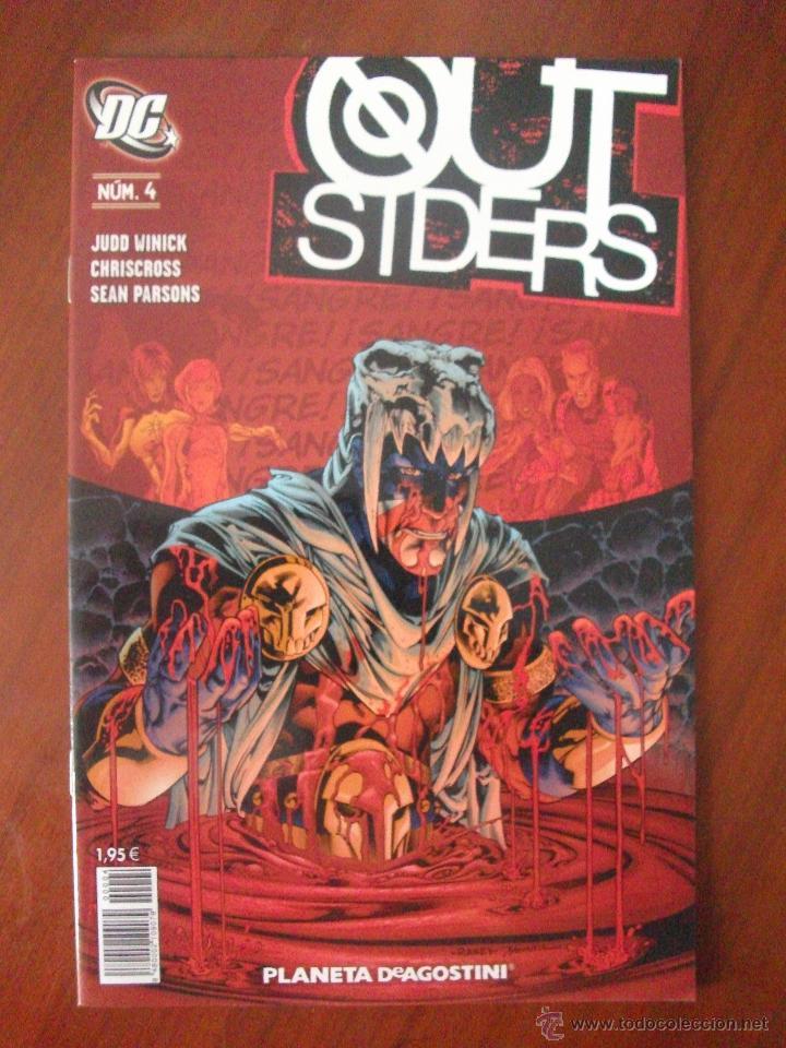 OUTSIDERS Nº 4 PLANETA DEAGOSTINI (Tebeos y Comics - Planeta)