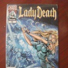 Cómics: LADY DEATH Nº 6 PLANETA. Lote 46450708