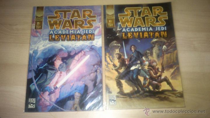 COMICS STAR WARS - ACADEMIA JEDI LEVIATAN - COMPLETA. DOS NÚMEROS (Tebeos y Comics - Planeta)