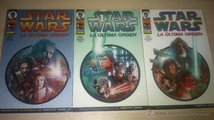 COMICS STAR WARS - TRILOGÍA DE LA NUEVA REPÚBLICA: LA ÚLTIMA ORDEN - COMPLETA (Tebeos y Comics - Planeta)
