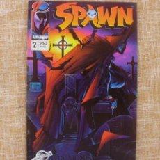 Cómics: SPAWN, NÚMERO 2, EDITORIAL PLANETA DEAGOSTINI, WORLD COMICS, IMAGE, AÑO 1994, TODD MCFARLANE, USADO. Lote 47017041