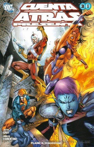 CUENTA ATRAS PRESENTA Nº 2 (Tebeos y Comics - Planeta)