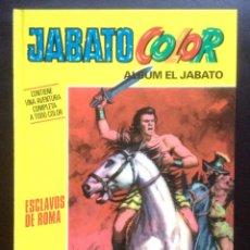 Cómics: JABATO COLOR ALBUM EL JABATO - ESCLAVOS DE ROMA - PLANETA DEAGOSTINI 2009 TAPA DURA - NUEVO . Lote 47391723