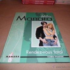 Cómics: MILO MANARA, RENDEZ-VOUS FATAL, AGOSTINI. Lote 47573920