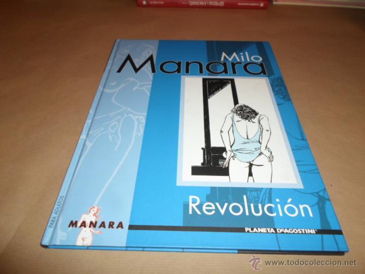 MILO MANARA, REVOLUCION, AGOSTINI (Tebeos y Comics - Planeta)
