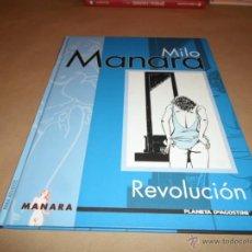Cómics: MILO MANARA, REVOLUCION, AGOSTINI. Lote 47573975