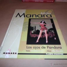 Cómics: MILO MANARA, LOS OJOS DE PANDORA, AGOSTINI. Lote 47574299