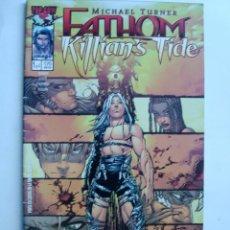 Cómics: FATHOM KILLIAN'S TIDE Nº 1 AL 4 - MINISERIE COMPLETA - IMAGE. Lote 47681480