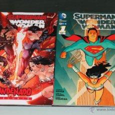 Cómics: SUPERMAN WONDER WOMAN 1 Y 2 ECC. Lote 47826391