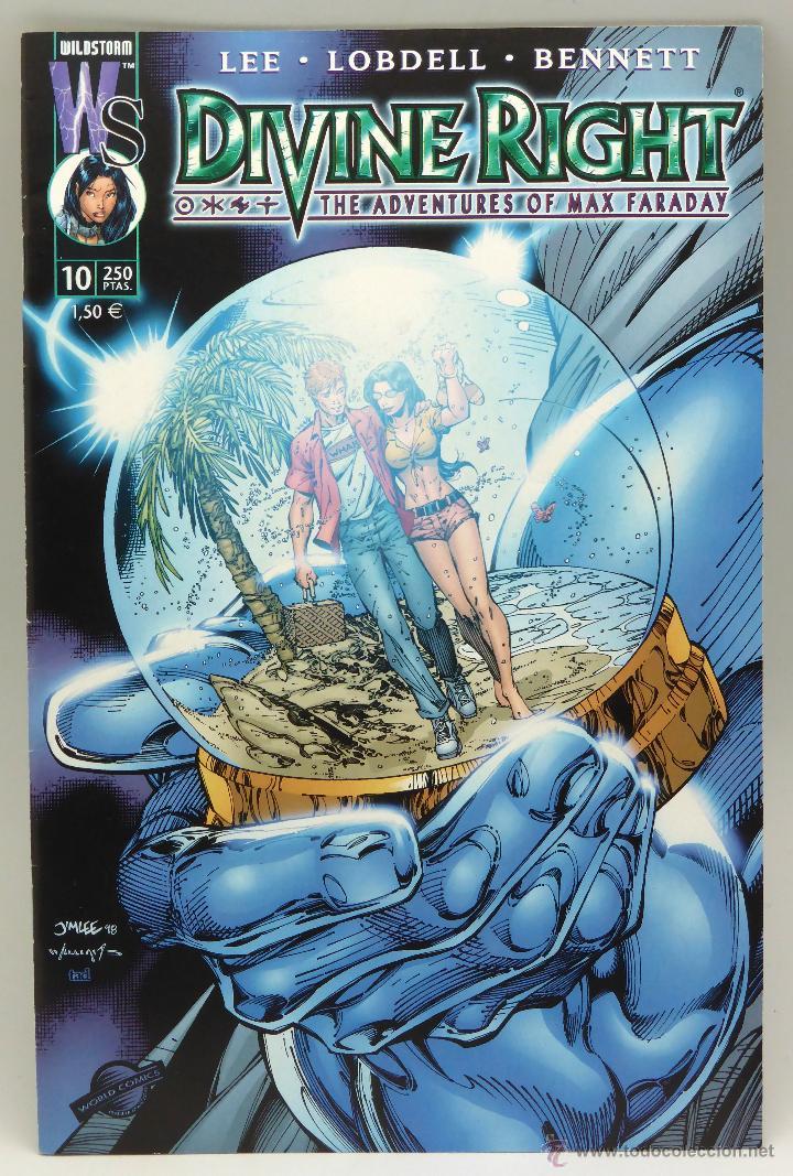 DIVINE RIGHT Nº 10 MAX FARADAY WORLD COMICS PLANETA 2000 (Tebeos y Comics - Planeta)