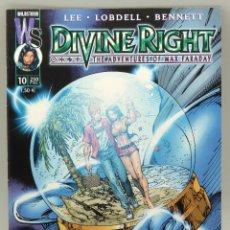 Cómics: DIVINE RIGHT Nº 10 MAX FARADAY WORLD COMICS PLANETA 2000. Lote 48156380