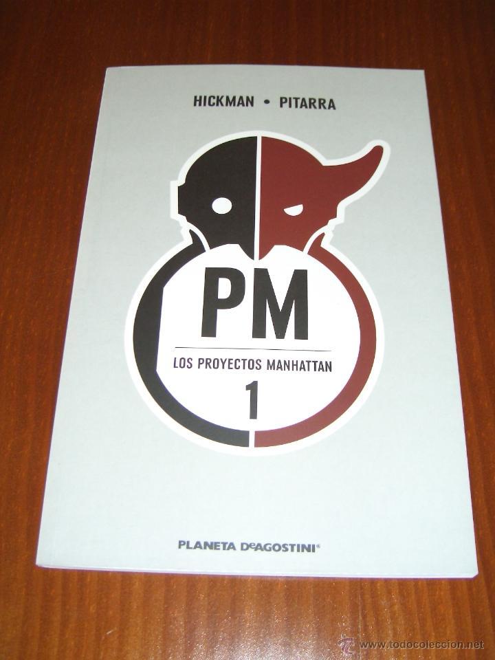 LOS PROYECTOS MANHATTAN - JONATHAN HICKMAN - PLANETA DEAGOSTINI (Tebeos y Comics - Planeta)