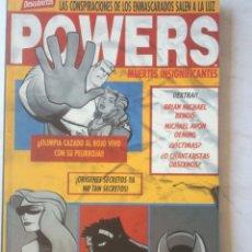 Cómics: POWERS - MUERTES INSIGNIFICANTES - (BENDIS) TOMO PLANETA. Lote 49456140