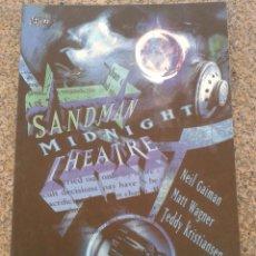 Cómics: SANDMAN : MIDNIGHT THEATRE -- NEIL GAIMAN -- PLANETA --. Lote 49556197