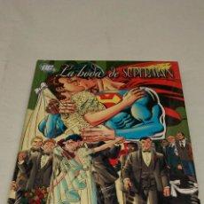 Cómics: LA BODA DE SUPERMAN , DC , PLANETADEAGOSTINI. Lote 144950184