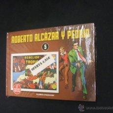 Cómics: ROBERTO ALCAZAR Y PEDRIN - Nº 5 - PLANETA - PRECINTADO -. Lote 158793273