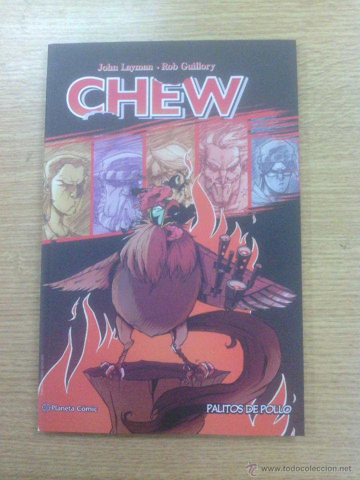 CHEW #9 PALITOS DE POLLO (Tebeos y Comics - Planeta)