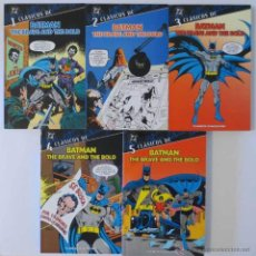 Cómics: CLASICOS DC BATMAN THE BRAVE AND THE BOLD COMPLETA PLANETA. Lote 50560432