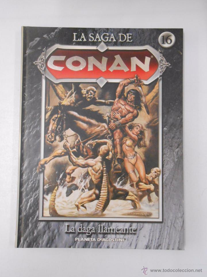 Cómics: LA SAGA DE CONAN. LOTE DE 16 LIBROS COMIC. TOMOS 1-16 DE LA COLECCION. TDK250 - Foto 2 - 50801324