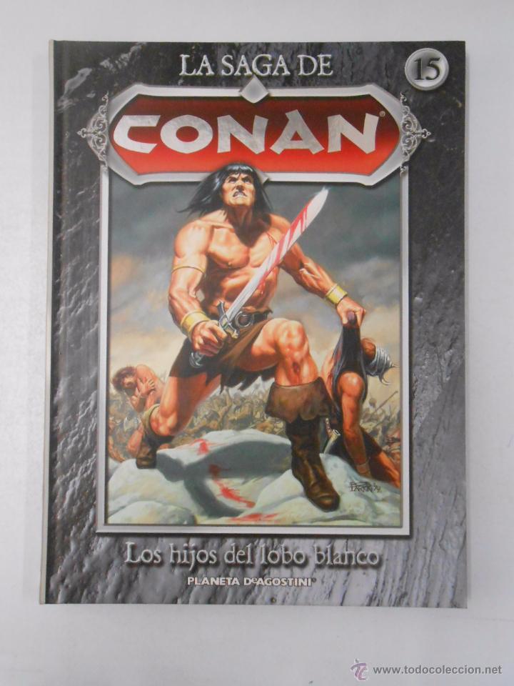 Cómics: LA SAGA DE CONAN. LOTE DE 16 LIBROS COMIC. TOMOS 1-16 DE LA COLECCION. TDK250 - Foto 3 - 50801324