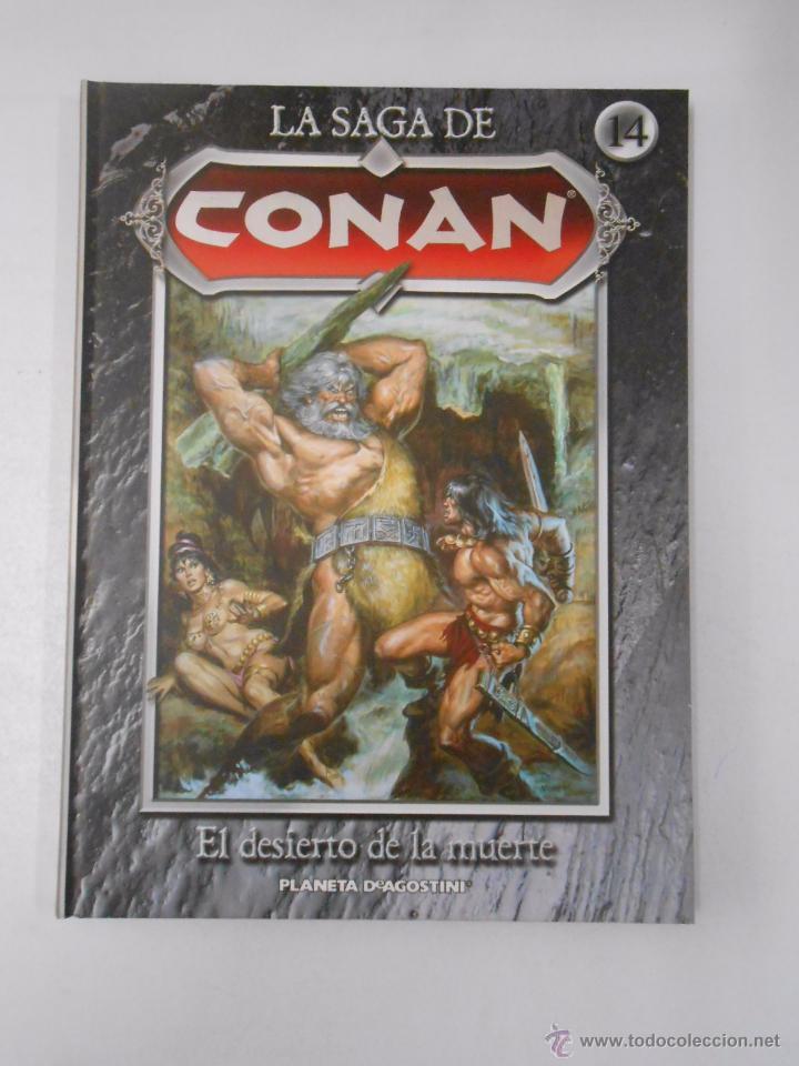 Cómics: LA SAGA DE CONAN. LOTE DE 16 LIBROS COMIC. TOMOS 1-16 DE LA COLECCION. TDK250 - Foto 4 - 50801324