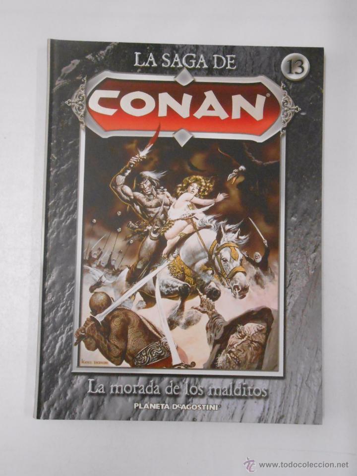 Cómics: LA SAGA DE CONAN. LOTE DE 16 LIBROS COMIC. TOMOS 1-16 DE LA COLECCION. TDK250 - Foto 5 - 50801324