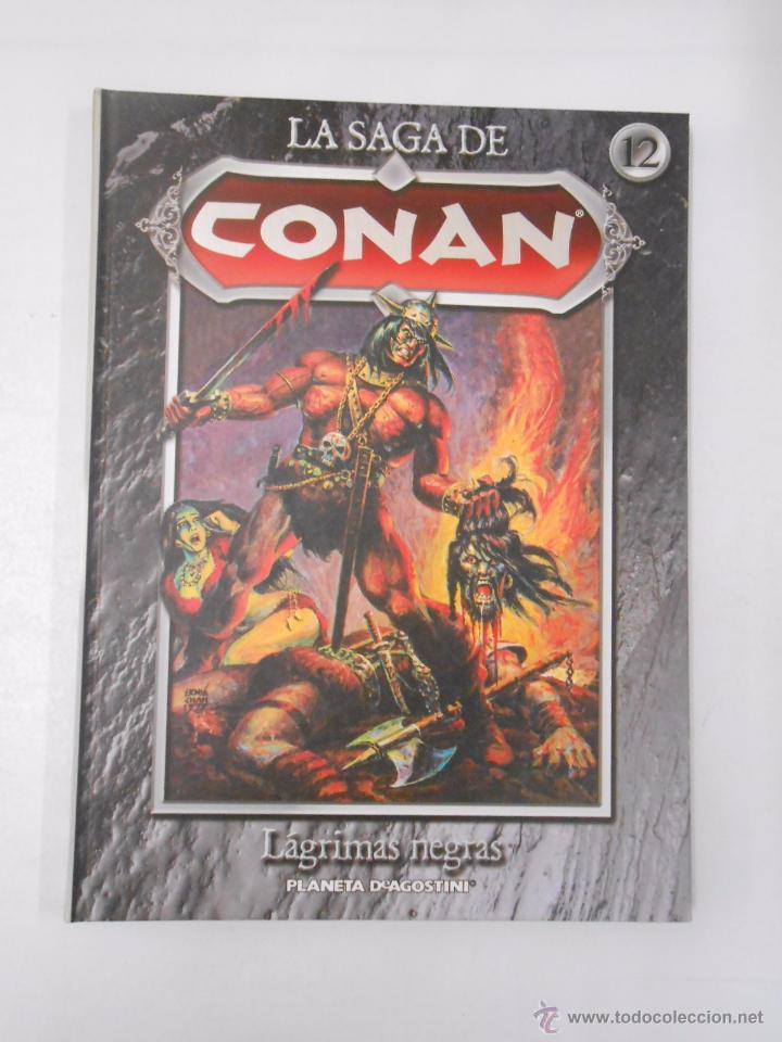 Cómics: LA SAGA DE CONAN. LOTE DE 16 LIBROS COMIC. TOMOS 1-16 DE LA COLECCION. TDK250 - Foto 6 - 50801324