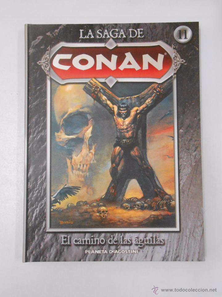 Cómics: LA SAGA DE CONAN. LOTE DE 16 LIBROS COMIC. TOMOS 1-16 DE LA COLECCION. TDK250 - Foto 7 - 50801324