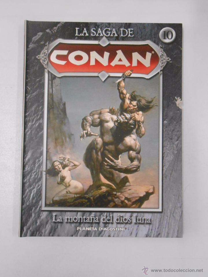 Cómics: LA SAGA DE CONAN. LOTE DE 16 LIBROS COMIC. TOMOS 1-16 DE LA COLECCION. TDK250 - Foto 8 - 50801324