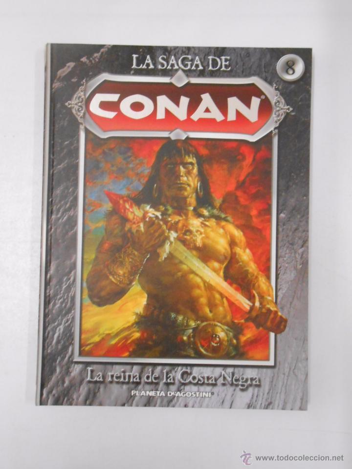 Cómics: LA SAGA DE CONAN. LOTE DE 16 LIBROS COMIC. TOMOS 1-16 DE LA COLECCION. TDK250 - Foto 10 - 50801324