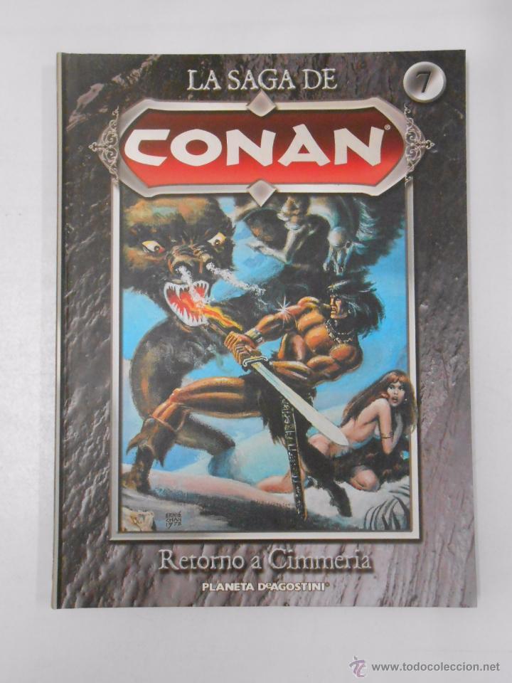 Cómics: LA SAGA DE CONAN. LOTE DE 16 LIBROS COMIC. TOMOS 1-16 DE LA COLECCION. TDK250 - Foto 11 - 50801324