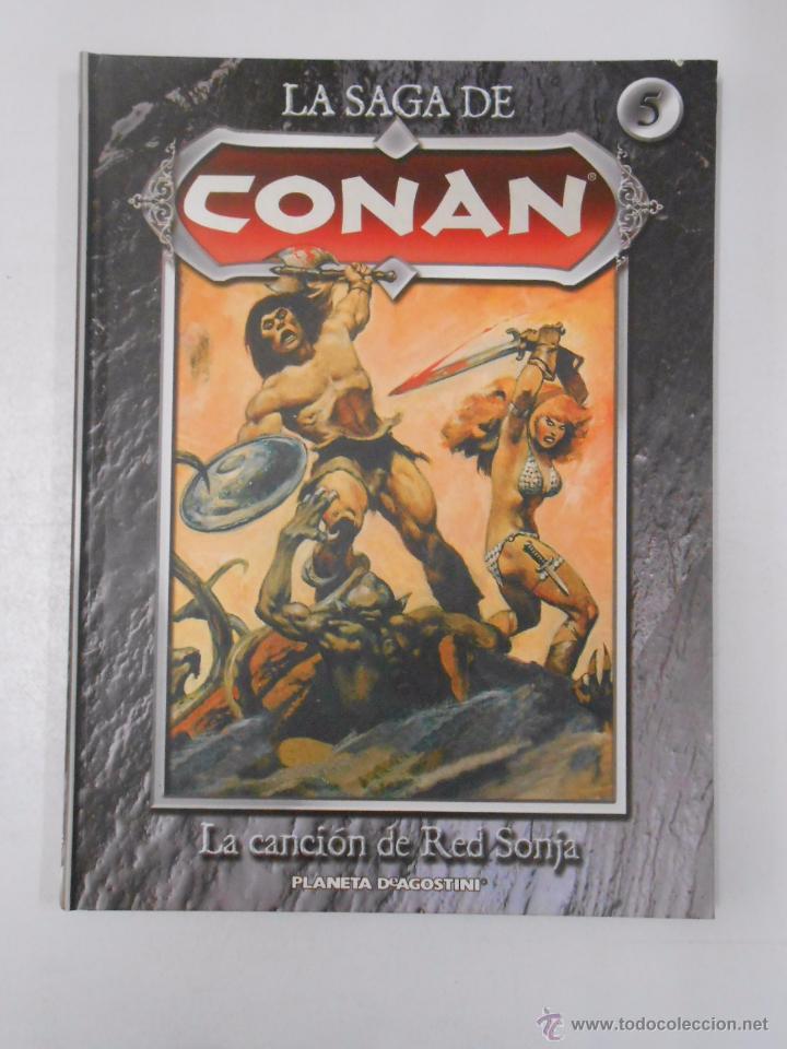 Cómics: LA SAGA DE CONAN. LOTE DE 16 LIBROS COMIC. TOMOS 1-16 DE LA COLECCION. TDK250 - Foto 13 - 50801324