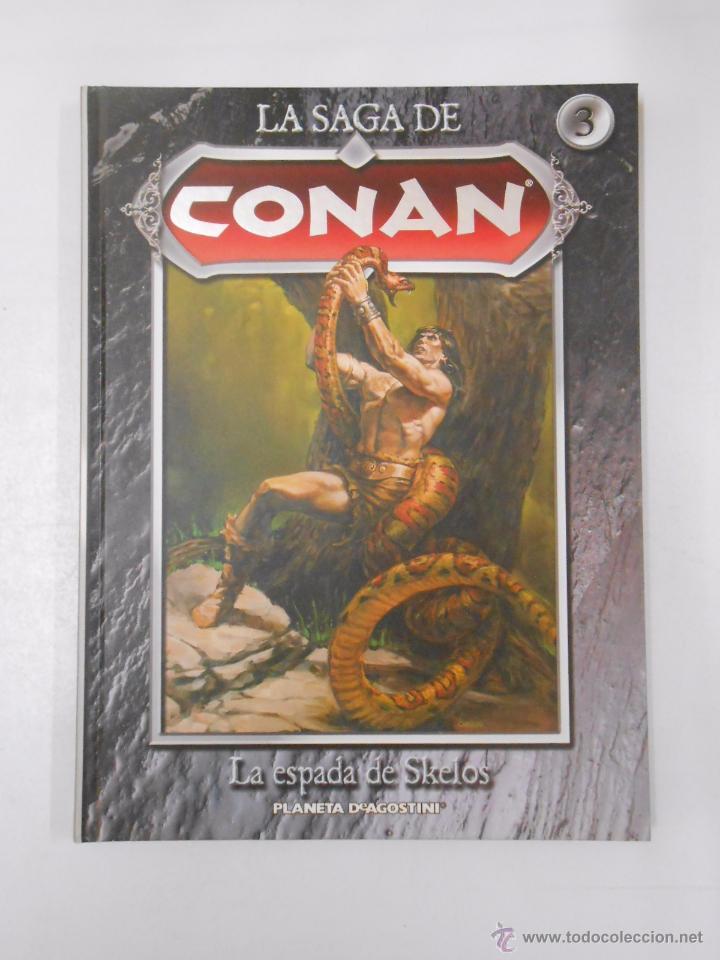 Cómics: LA SAGA DE CONAN. LOTE DE 16 LIBROS COMIC. TOMOS 1-16 DE LA COLECCION. TDK250 - Foto 15 - 50801324