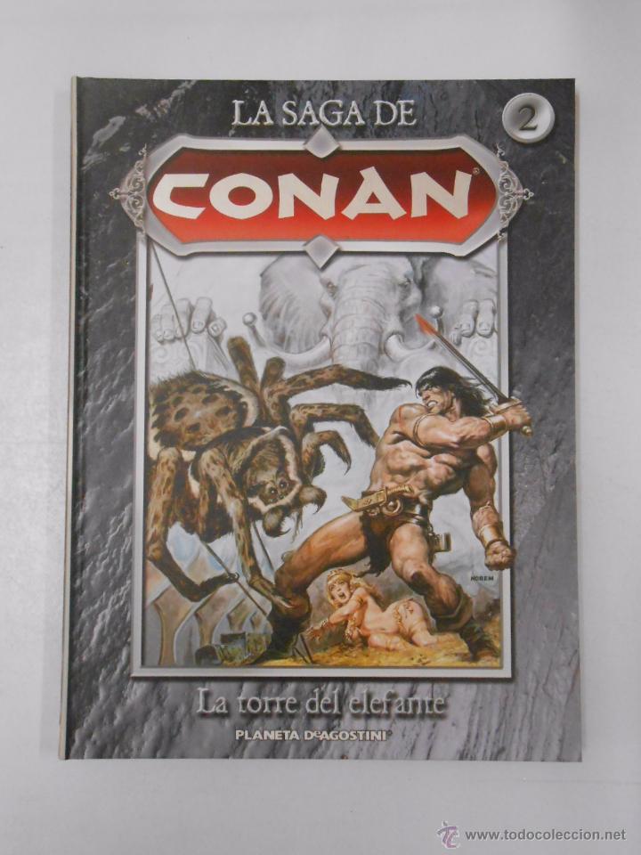 Cómics: LA SAGA DE CONAN. LOTE DE 16 LIBROS COMIC. TOMOS 1-16 DE LA COLECCION. TDK250 - Foto 16 - 50801324