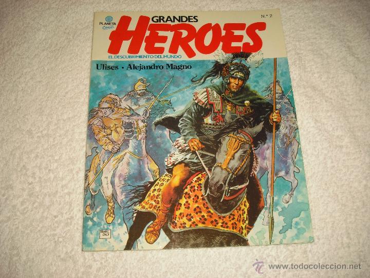 GRANDES HEROES N 2 . COMIC PLANETA . EL DESCUBRIMIENTO DEL MUNDO (Tebeos y Comics - Planeta)