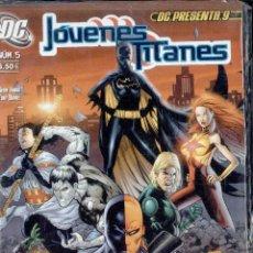 Cómics: JOVENES TITANES Nº5. DC. Lote 51596590