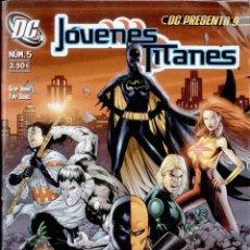 Cómics: JOVENES TITANES Nº5. DC. Lote 51596708