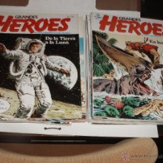 Cómics: HEROES DEL COMIC PLANETA COMPLETA 25 COMICS. Lote 51789402