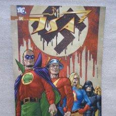 Cómics: JSA Nº 4 TIERRA PATRIA / PLANETA 2011(DESC.30%). Lote 52019794
