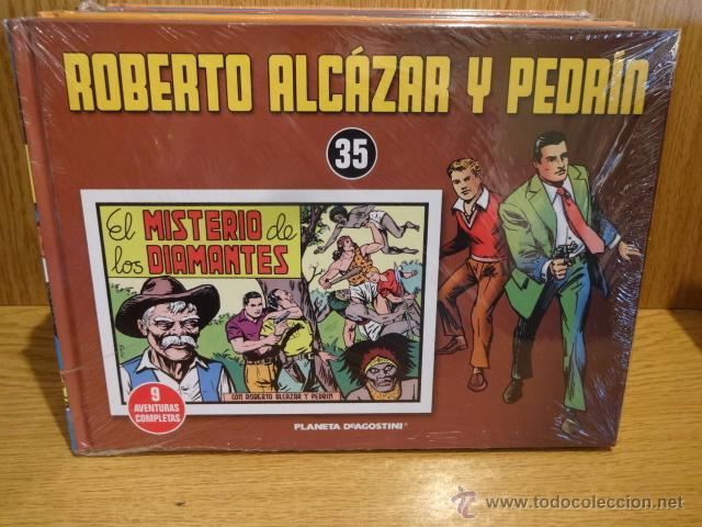 ROBERTO ALCÁZAR Y PEDRÍN. TOMO 35. EDITORIAL PLANETA - 2010 / PRECINTADO (Tebeos y Comics - Planeta)