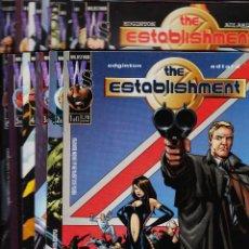Cómics: THE ESTABLISHMENT. COLECCIÓN COMPLETA (13 NÚMEROS) PLANETA, 1998.. Lote 52668457