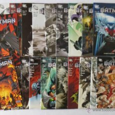 Cómics: BATMAN 1,2,3,4,5,6,7,8,9,10,11,12,13,14,15,16,17,18,19,20,21,22 PLANETA. Lote 52922189