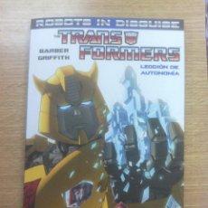 Cómics: TRANSFORMERS ROBOTS IN DISGUISE #1 LECCION DE AUTONOMIA. Lote 53048172