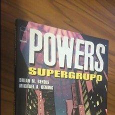 Cómics: POWERS. SUPERGRUPO. BENDIS, OEMING. PLANETA DEAGOSTINI. Lote 53193386